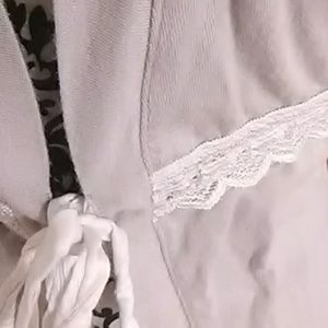 Belabumbum Intimates & Sleepwear - Gray belabumbum robe